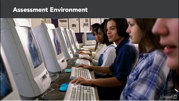 Assessment environment: Create Effective Learning Assessments