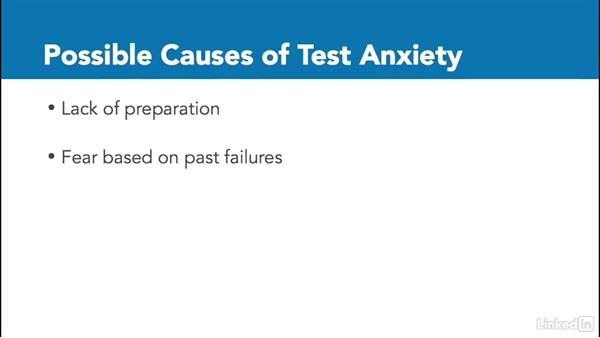 Test anxiety: Create Effective Learning Assessments