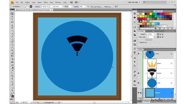 Attributes of the Dynamic Appearance palette: Illustrator CS4 One-on-One: Mastery