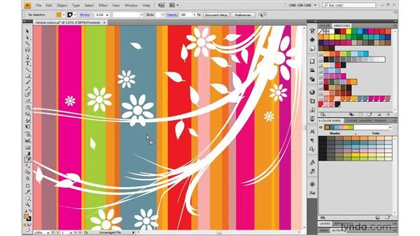 Creating a custom harmony rule: Illustrator CS4 One-on-One: Mastery