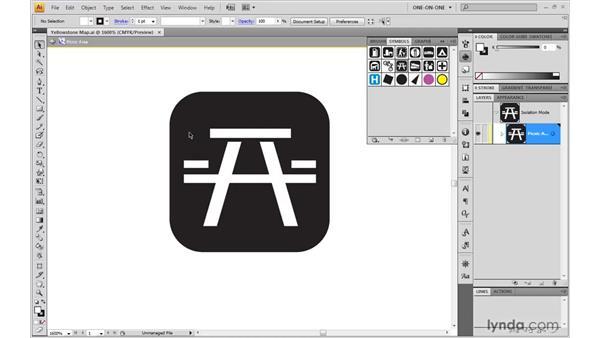 The power of symbols: Illustrator CS4 One-on-One: Mastery