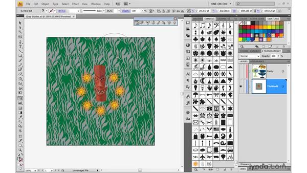 Symbolism tool overview: Illustrator CS4 One-on-One: Mastery