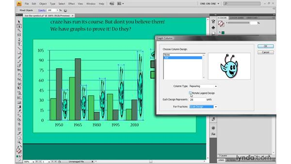 Creating a pictograph: Illustrator CS4 One-on-One: Mastery