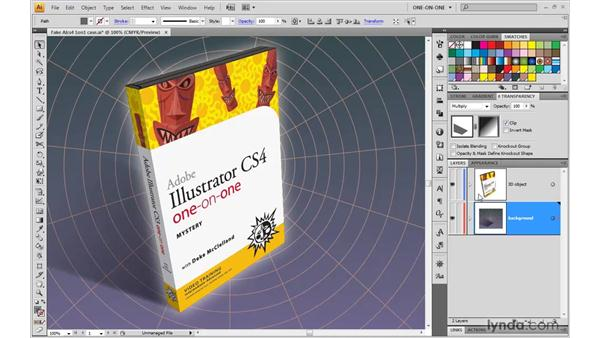 Introducing 3D in Illustrator: Illustrator CS4 One-on-One: Mastery
