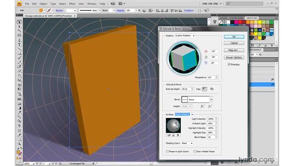 Adjusting lighting and shading: Illustrator CS4 One-on-One: Mastery