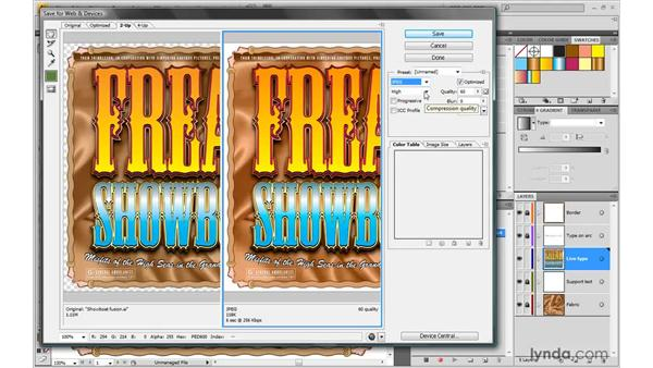Recording a practical action: Illustrator CS4 One-on-One: Mastery