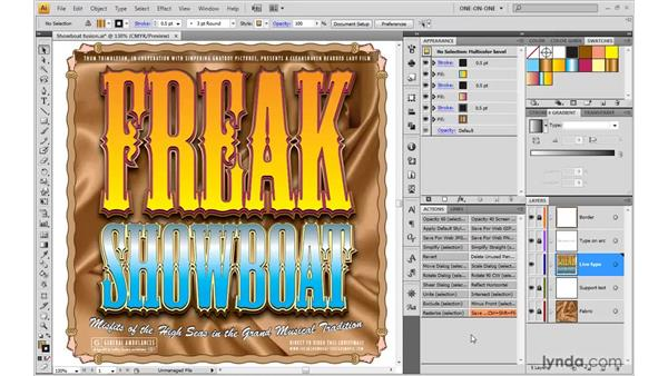 The many ways to play an action: Illustrator CS4 One-on-One: Mastery