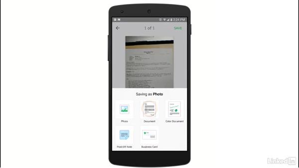 Upload documents and pictures: Evernote for Students