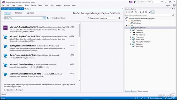 Leverage external dependencies: Learn ASP.NET Core MVC: The Basics