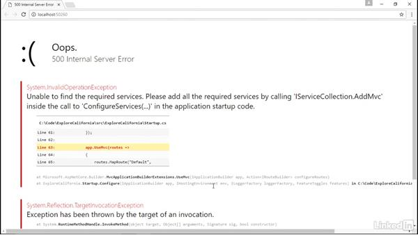 Add ASP.NET MVC to your ASP.NET Core application: Learn ASP.NET Core MVC: The Basics
