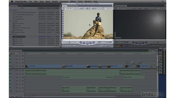 Learning the interface: Final Cut Pro 7 Essential Training