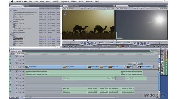 The four ways to drive Final Cut Pro: Final Cut Pro 7 Essential Training