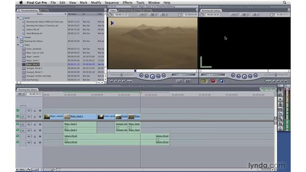 Three-point editing: Final Cut Pro 7 Essential Training