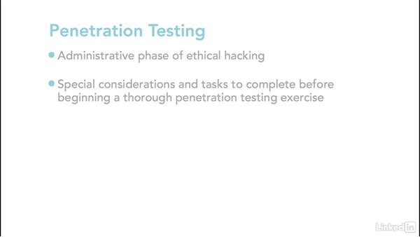 What you should know: Ethical Hacking: Penetration Testing