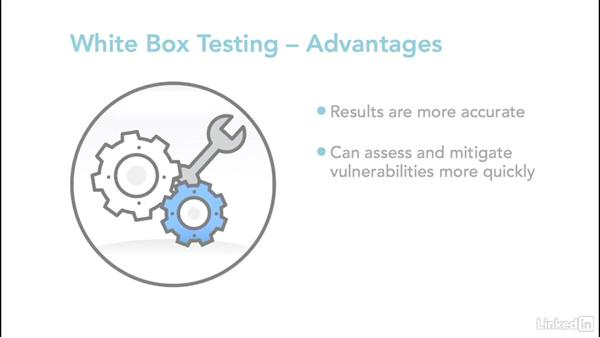 Black, gray, and white-box testing: Ethical Hacking: Penetration Testing
