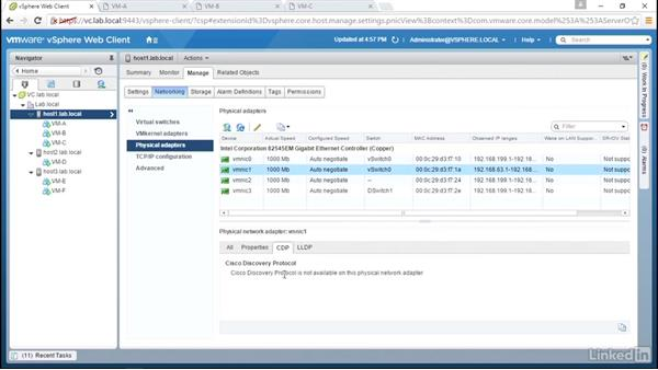 Troubleshooting demonstration 2: VMware vSphere: Network Troubleshooting