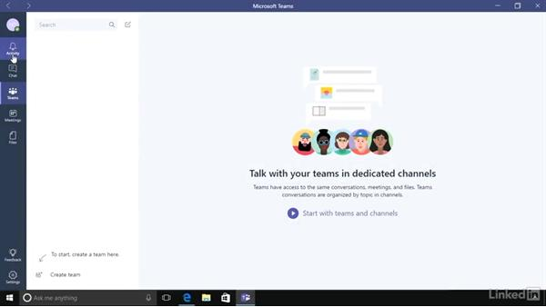 Welcome: Microsoft Teams First Look