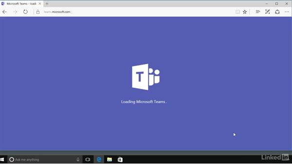 Access Microsoft Teams on computers and mobile devices: Microsoft Teams First Look