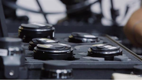 Camera and lighting setups: Cinematography 02: Working on Set