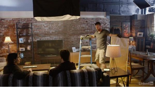 Work with the lighting crew and equipment: Cinematography 02: Working on Set