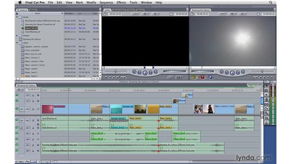 Taking control of your timeline: Final Cut Pro 7 Essential Training