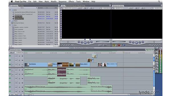 Auto Select: Final Cut Pro 7 Essential Training