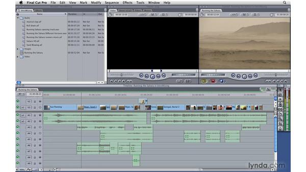 Introduction to mixing: Final Cut Pro 7 Essential Training