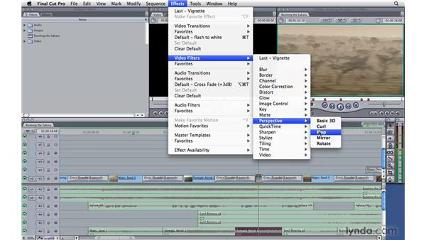 Using filters: Final Cut Pro 7 Essential Training
