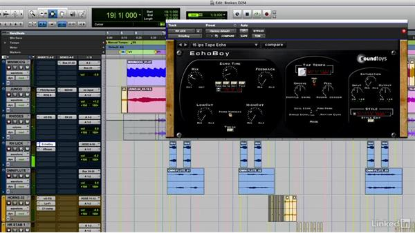 Mixing the song: Music Production Techniques and Concepts
