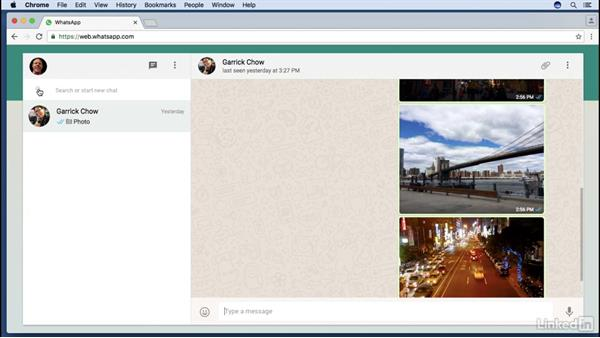 WhatsApp on the web or a tablet: Learning WhatsApp