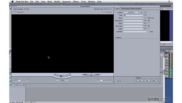 Special considerations for HDV users: Final Cut Pro 7 Essential Training