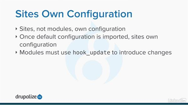 Introducing the configuration system: Drupal 8 Configuration Management