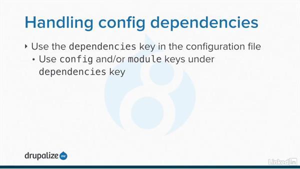 Default configuration in a module: Drupal 8 Configuration Management
