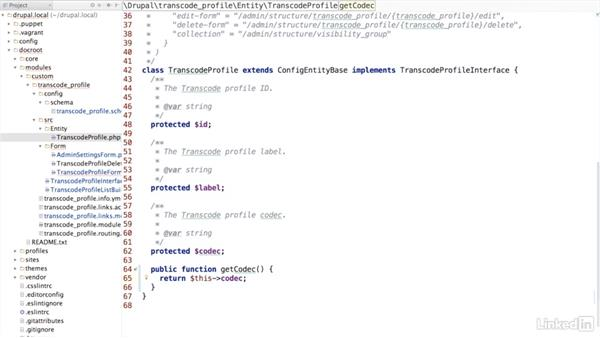 Add properties to a configuration entity: Drupal 8 Configuration Management
