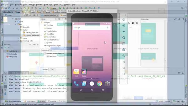Welcome: Android App Development Essentials: Create Your First App