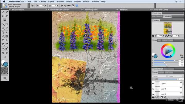 What's new in Painter 2017?: Painter 2017 Essential Training
