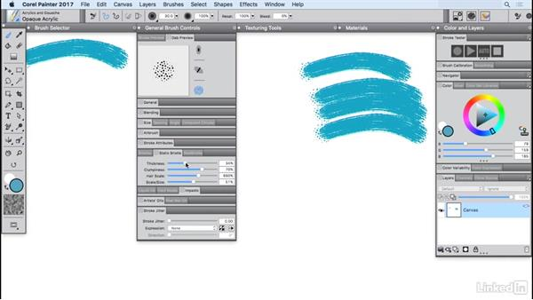 Working with workspaces: Painter 2017 Essential Training
