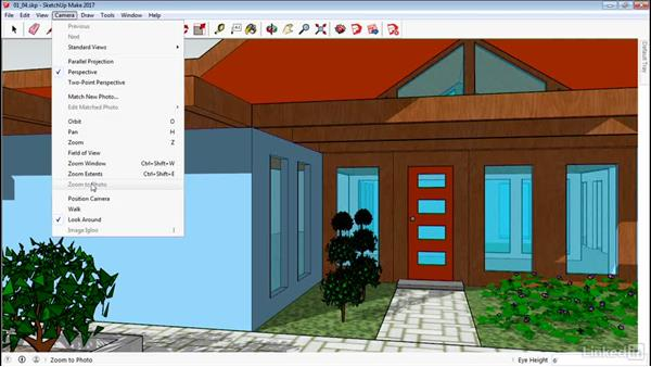 Walk around in SketchUp: SketchUp 2017 Essential Training