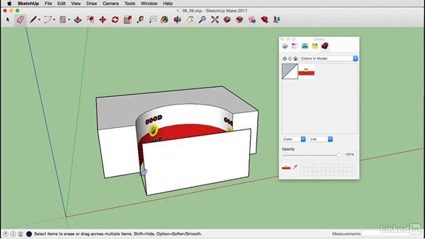 Projection maps on a Mac: SketchUp 2017 Essential Training