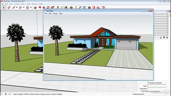 Export in 2D and 3D: SketchUp 2017 Essential Training