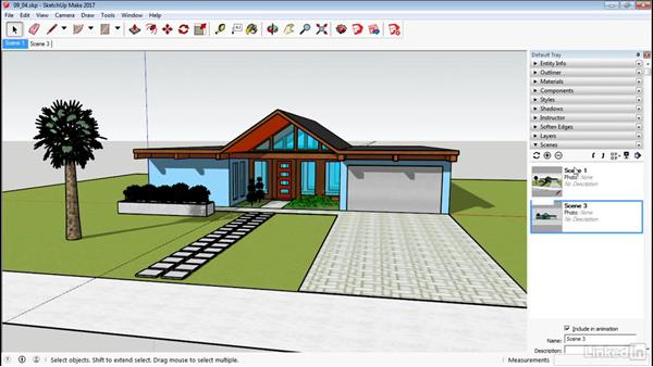 Basic animation: SketchUp 2017 Essential Training
