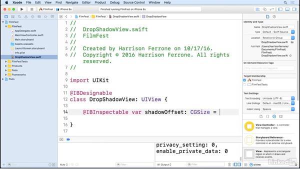 Interface setup: iOS Test-Driven Development Fundamentals