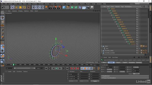 Build a rig in C4D