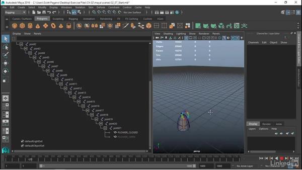 Combine animations in Maya