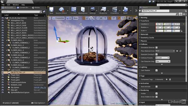 Import alembic into UE4