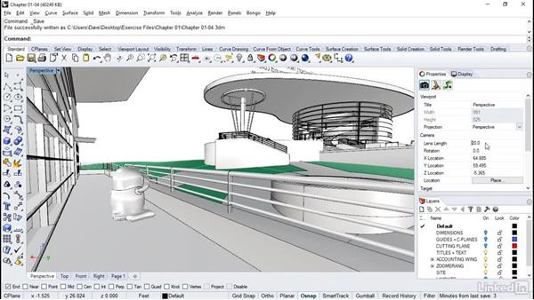 Screen capture strategies: Rhino Project: Architectural Documentation