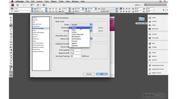 Setting preferences, workspace, and custom keyboard shortcuts: InDesign CS4: Typography