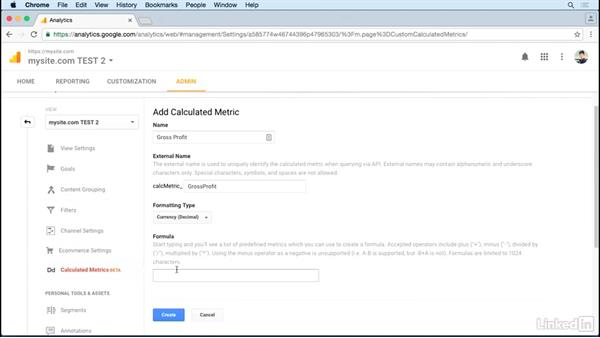 Calculate gross profit: Calculating Gross Profit with Google Analytics