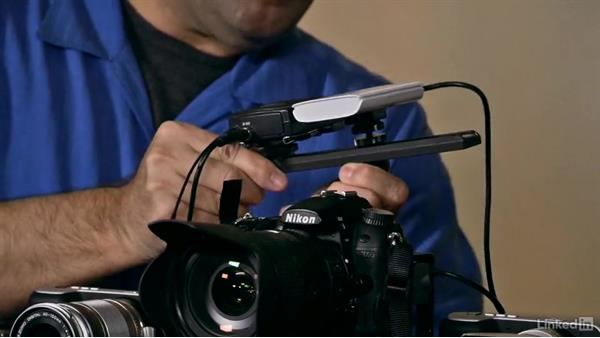 Using a micro rail: Video Gear: Support & Grip