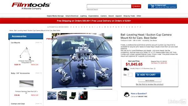 Gear overview: Video Gear: Support & Grip